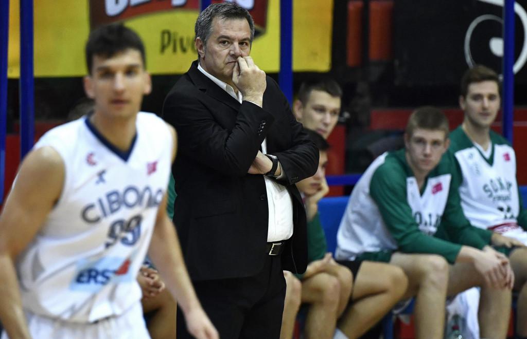 trener Sonik Puntamike Hrvoje Vlašić<br />