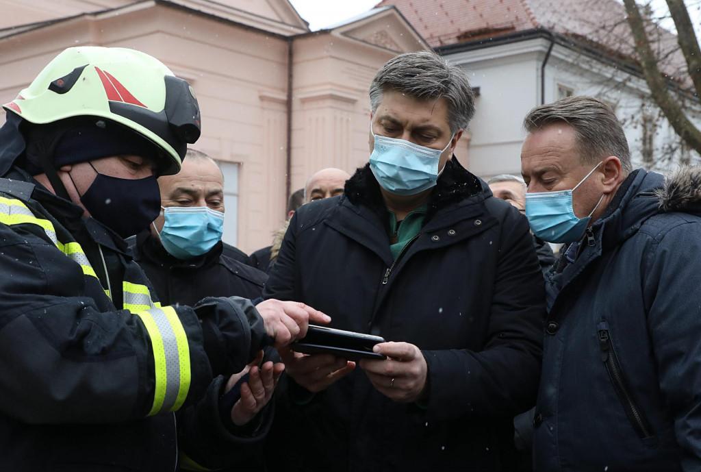 Andrej Plenković sa sisačkim županom