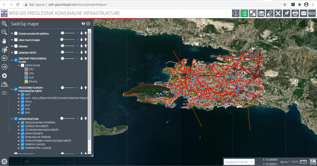 Putem novog Geografsko-informacijskog sustava zainteresirana javnost će imati uvid u niz korisnih informacija