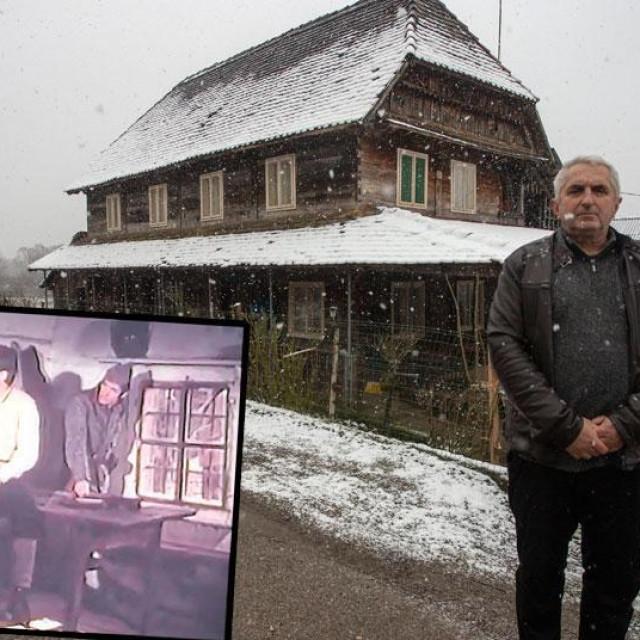 Dragan Adžić (desno), prizor iz filma 'U gori raste zelen bor' (dolje lijevo)