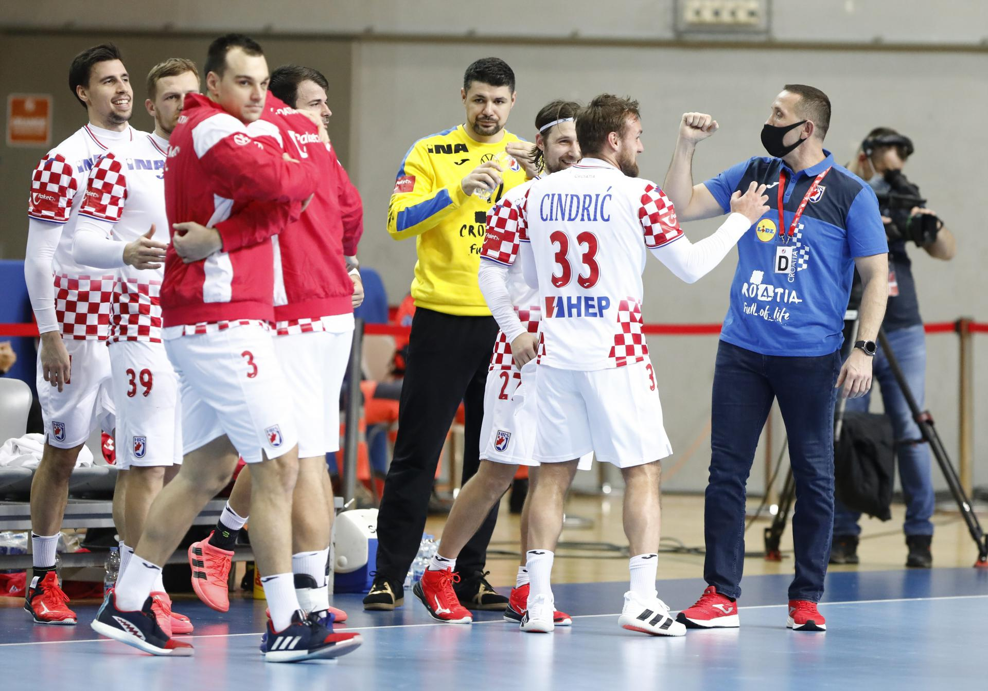 Dobre vijesti iz tabora hrvatske rukometne reprezentacije: cjelokupna delegacija negativna na oba testa na koronavirus