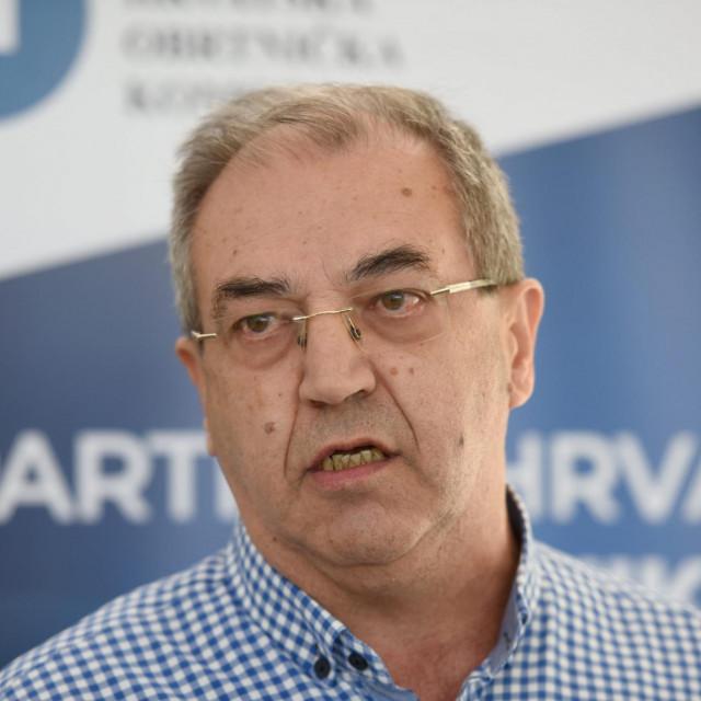 Stipe Knezevic predsjednik Obrtnicke komore Zadarske zupanije<br />