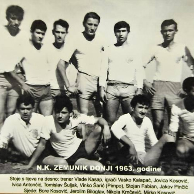 NK Zemunik 1963. godine