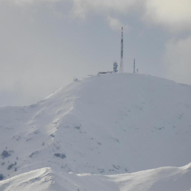 Jutrošnji snimak vrha Biokove iz Imotskog