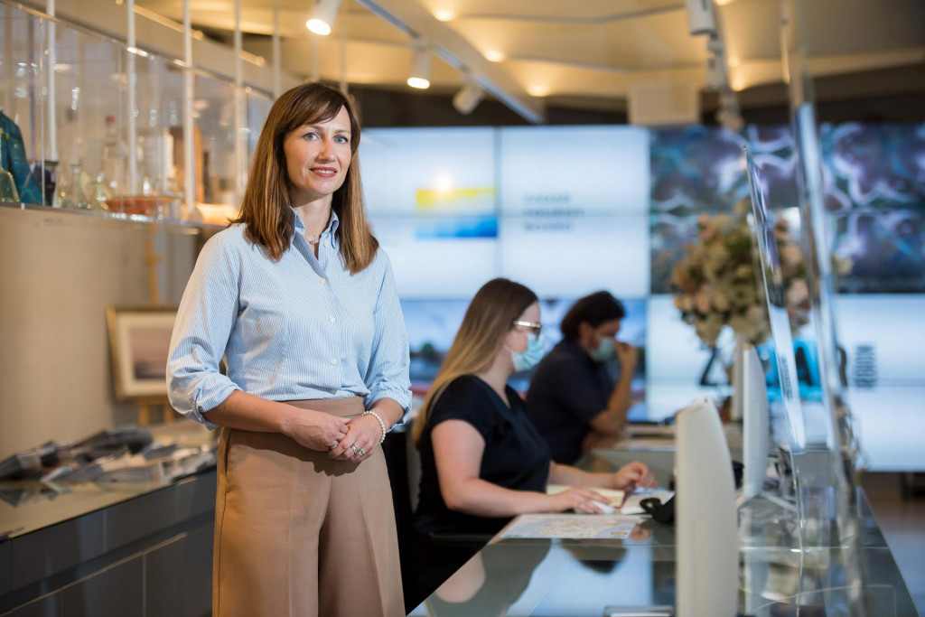 Mihaela Kadija je direktorica Turisticke zajednice Zadarske zupanije.<br />