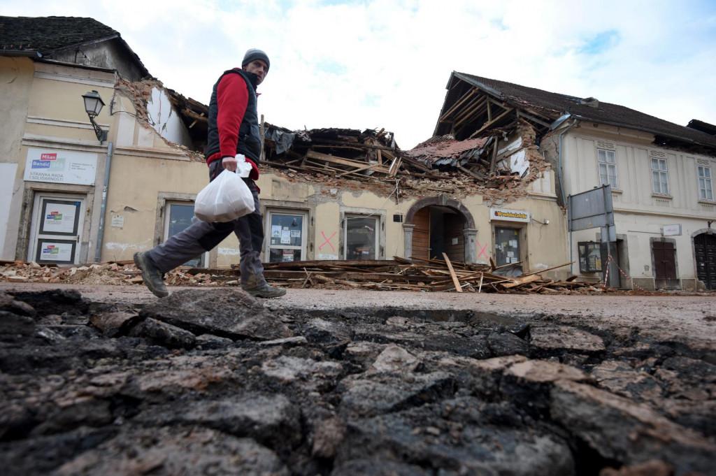 Posljedice razornog potresa u Petrinji<br />