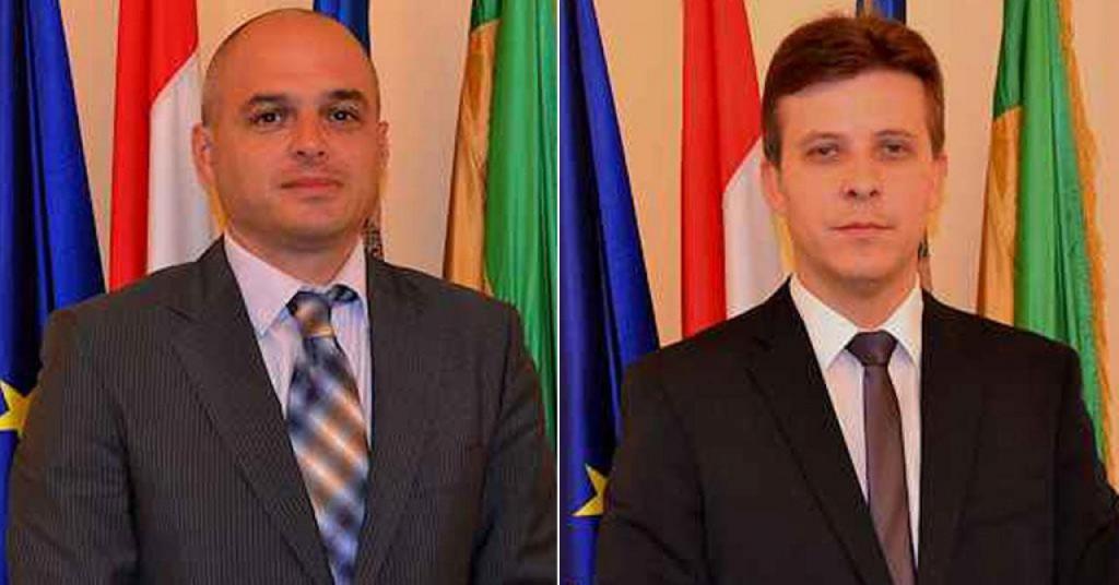 Požeški HDZ-ovci Darko Puljašić i Mario Pilon