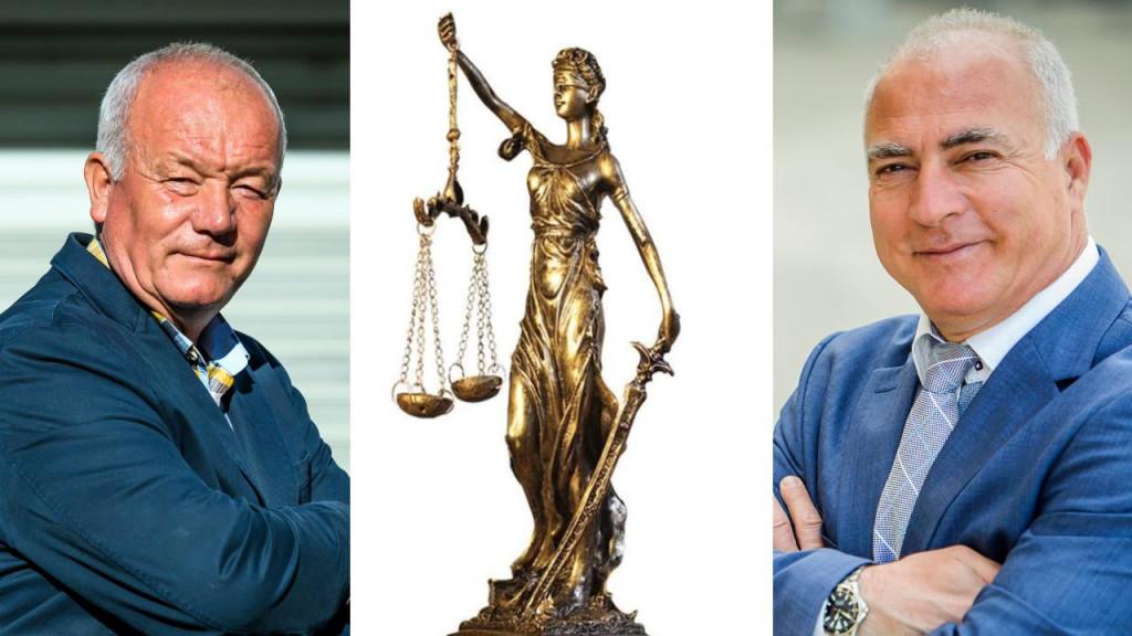 Branko Peran (lijevo) vodio je spor pet godina zbog nezakonite smjene kojom ga je, kako je ustvrdio, župan Goran Pauk omalovažio
