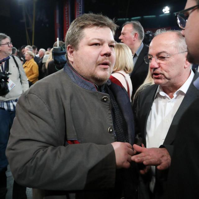 Ivan Račan snimljen prošle godine u izbornom stožeru Zorana Milanovića