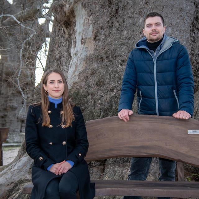 Ivana Konjevod i Hrvoje Tomić iz Javne ustanove za upravljanje zaštićenim dijelovima prirode Dubrovačko-neretvanske županije