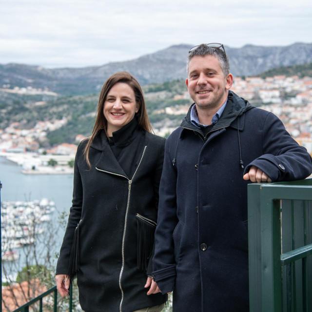 Ivana Marčinko i Damjan Đanović, inženjeri građevinarstva iz Dubrovnika