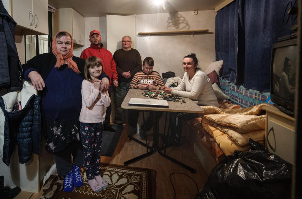 Željko Salamun, supruga Silvija, djeca Dora i Dorian, baka Katarina Salamun i tast Ivan Galijan