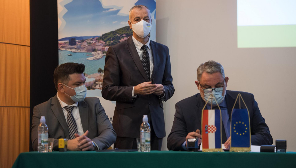 Damir Gužvinec, Ivan Ivković i Miroslav Delić<br />