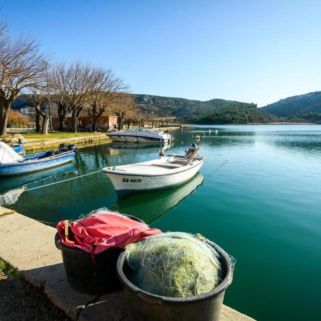 Na plaži Pionir počeli su radovi na novom pristaništu za izletničke brodove Nacionalnog parka Krka
