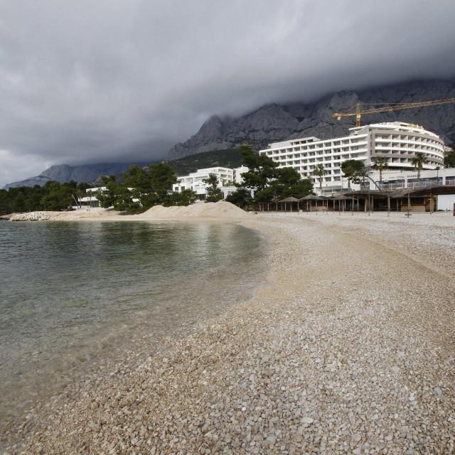 Plaža ispred hotela 'Romana'