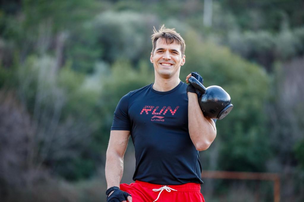 Jadran Barač, šef dubrovačkog SDP-a navikao je na sportski način života