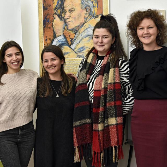 Ivana Marinović, Ana-Marija Vrdoljak, Anđela Teklić i Doris Nazor