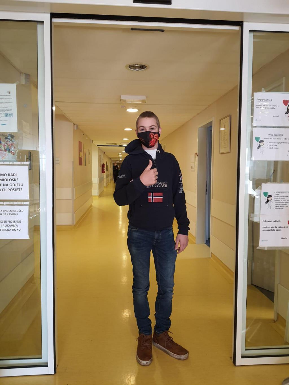 Karlo Magaš ide na terapiju i objavio je rat bolesti: Ima dosta bolesne djece, ali borite se jer vi to možete!