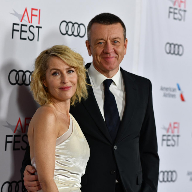 Gillian Anderson i Peter Morgan