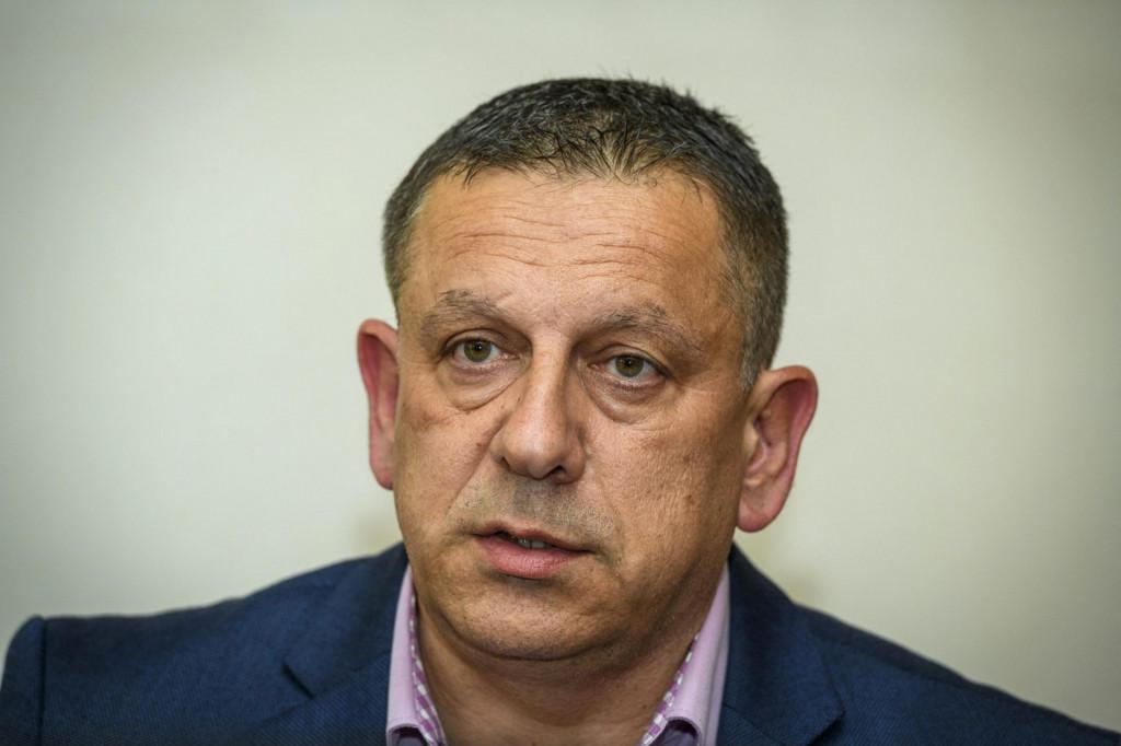 Nikola Blažević (HDZ), zamjenik župana i načelnik županijskog Stožera civilne zaštite