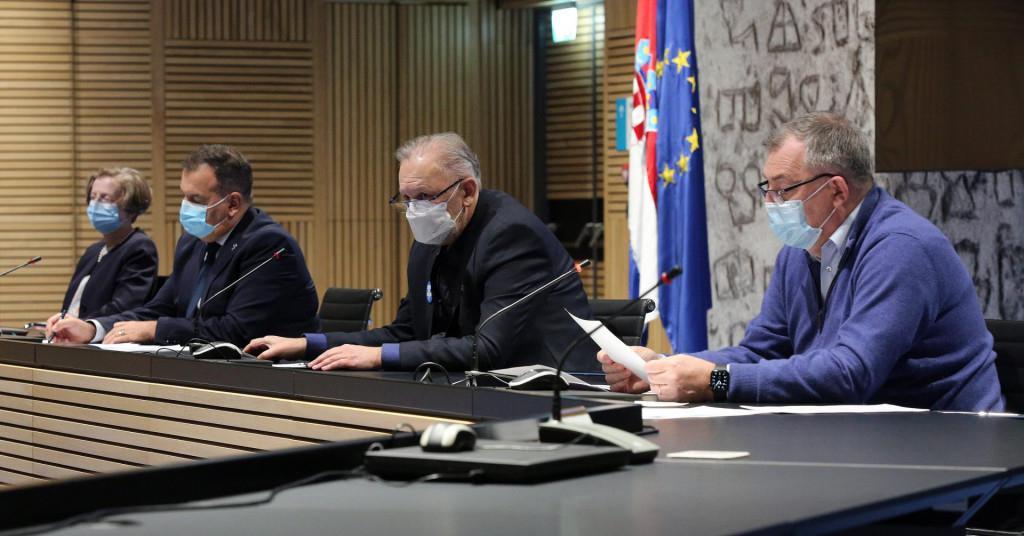 Nacionalni stožer civilne zaštite o situaciji s epidemijom u Hrvatskoj