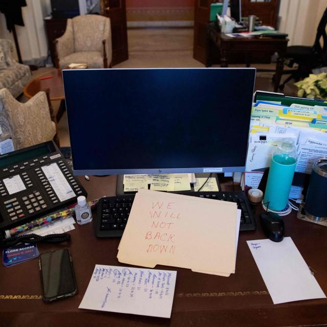 Radni stol Nancy Pelosy