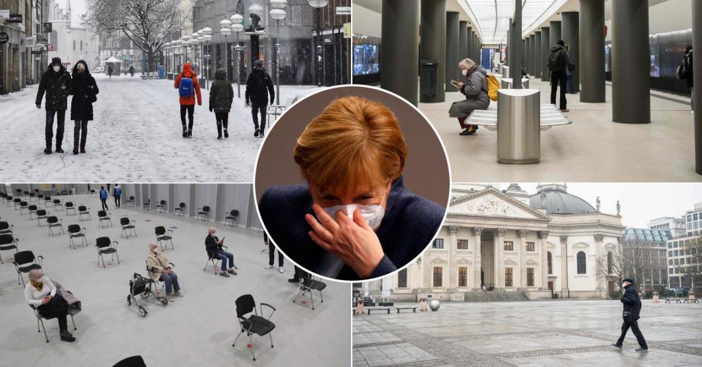 Njemačka uvodi strogi lockdown