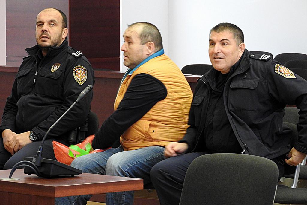 Milivoj Utrobičić zvani Mile Mesar na jednoj od sudskih rasprava