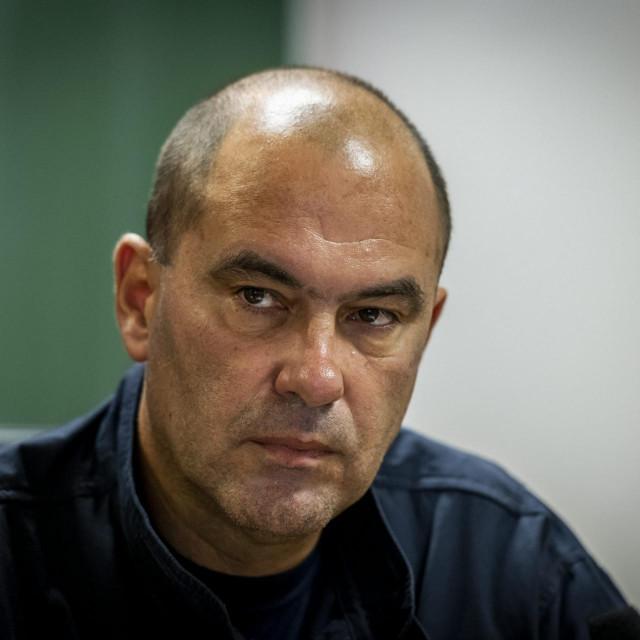 Darko Dukić, županijski vatrogasni zapovjednik