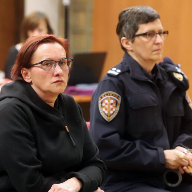Na fotografiji: Smiljana Srnec u velikoj raspravnoj dvorani Županijskog suda u Varaždinu