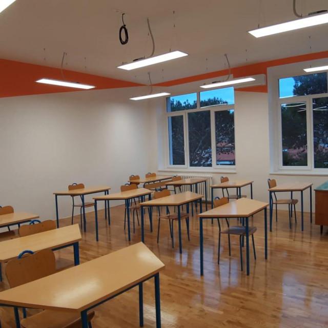 Nove učionice u OŠ Juraj Dalmatinac u Pagu