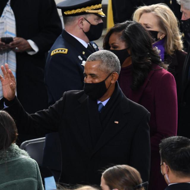 Demokratski predsjednici na okupu - Obama i Clinton sa suprugama
