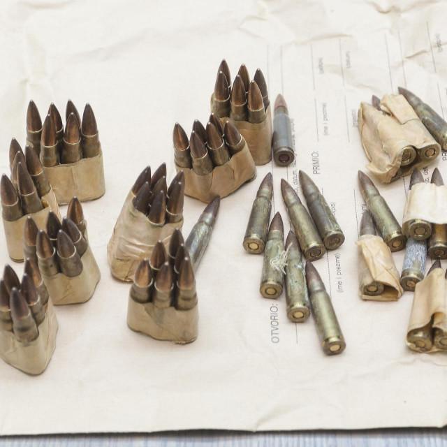 Uhićenik je imao malo manje od 100 metaka raznih kalibara
