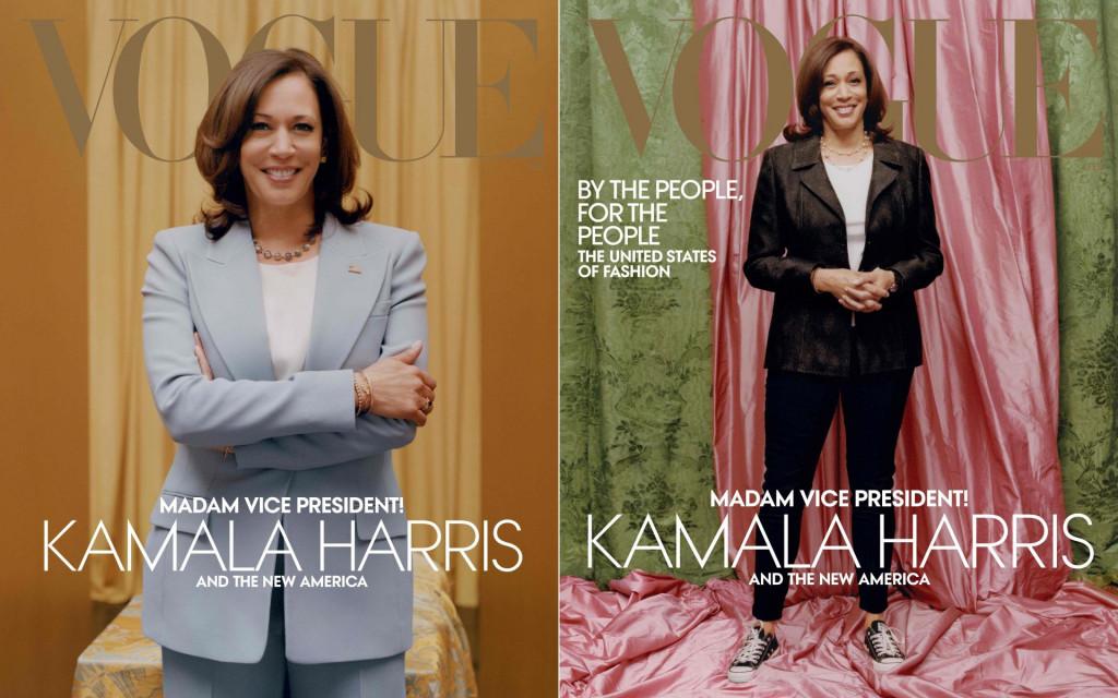 Kamala Harris u odijelu Michael Kors i uConverse tenisicama