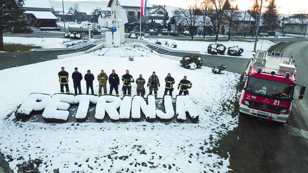 JVP Split u Petrinji nakon potresa