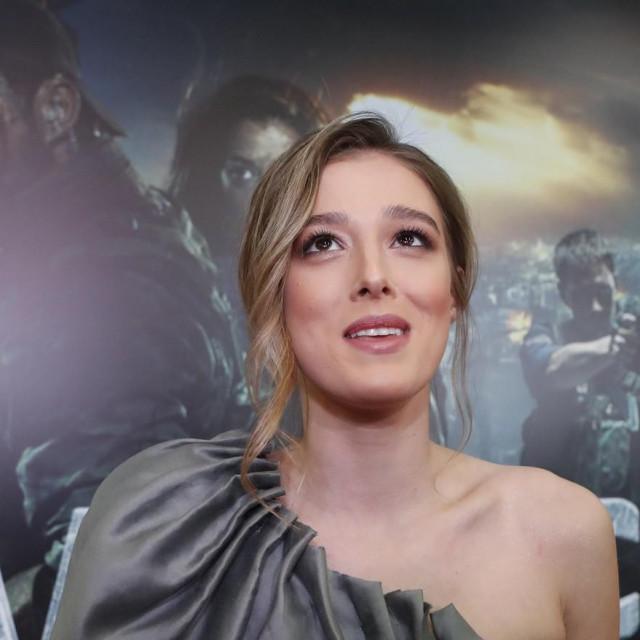 Milena Radulović u nekim sretnijim trenucima svoje glumačke karijere