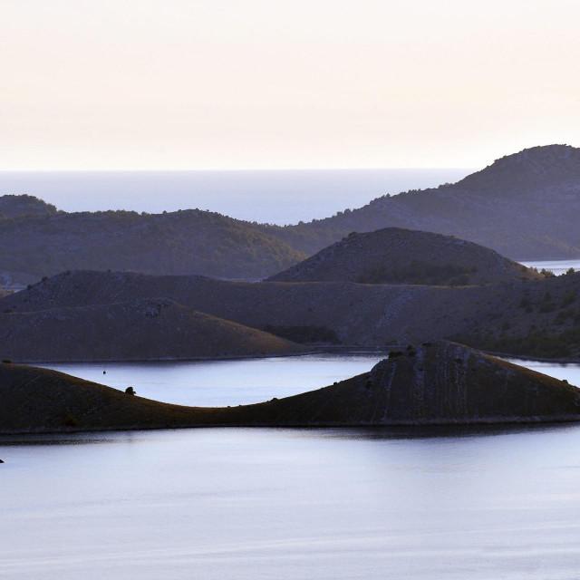 Pogled na Nacionalni park Kornati