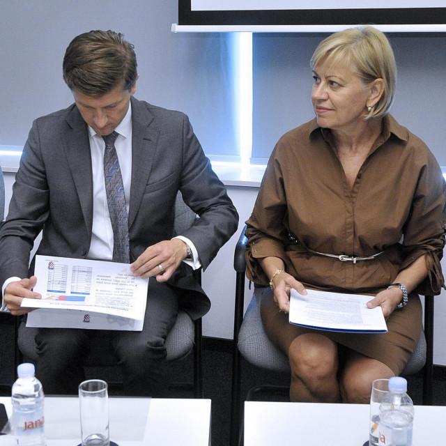 Na fotografiji: Zdravko Marić, Marina Pulišić