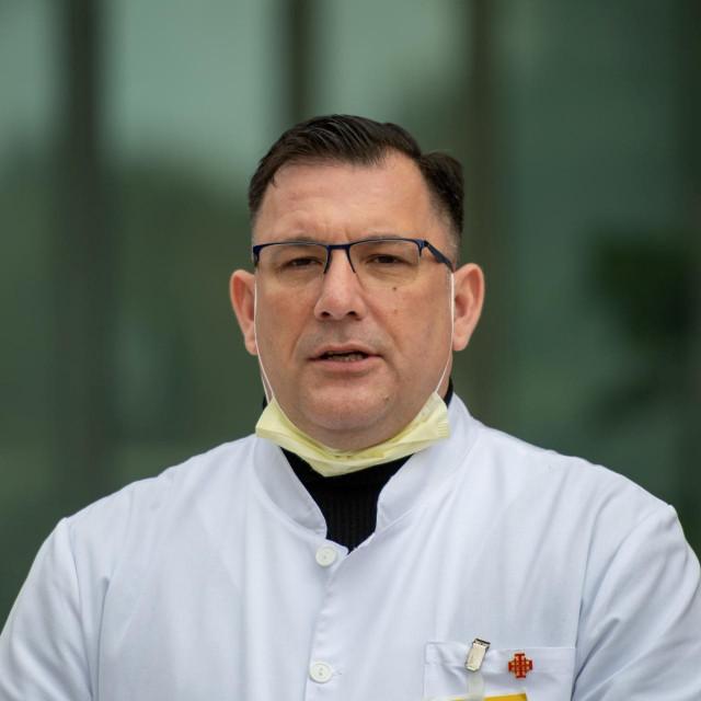 Ravnatelj Opće bolnice Dubrovnik dr.sc. Marijo Bekić