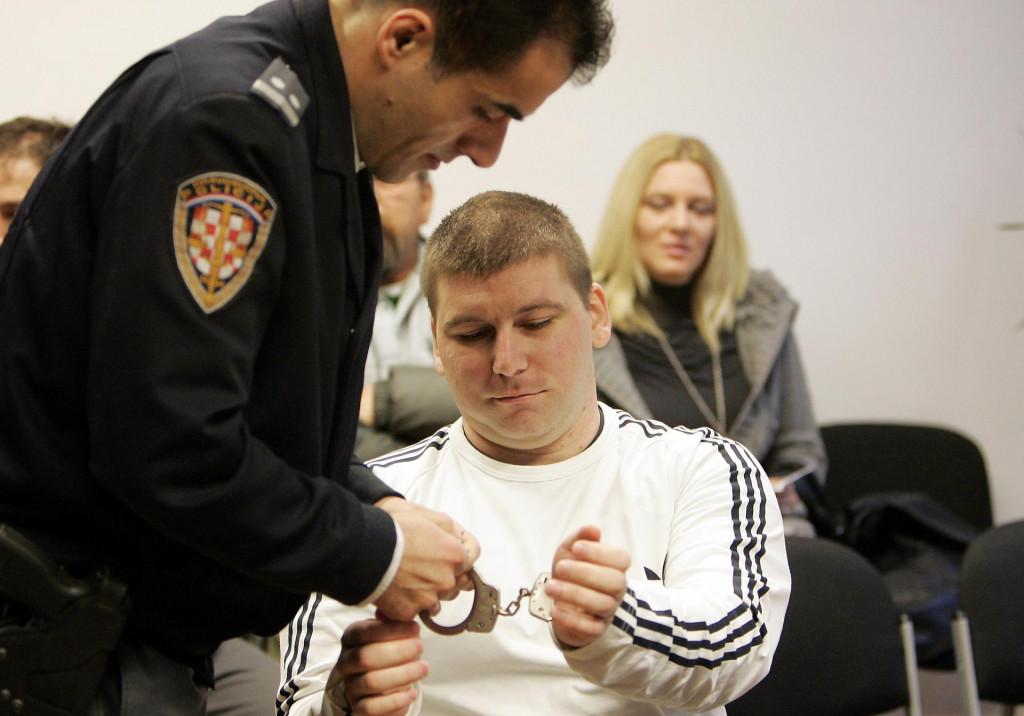 Damir Rašidagić na jednom od suđenja