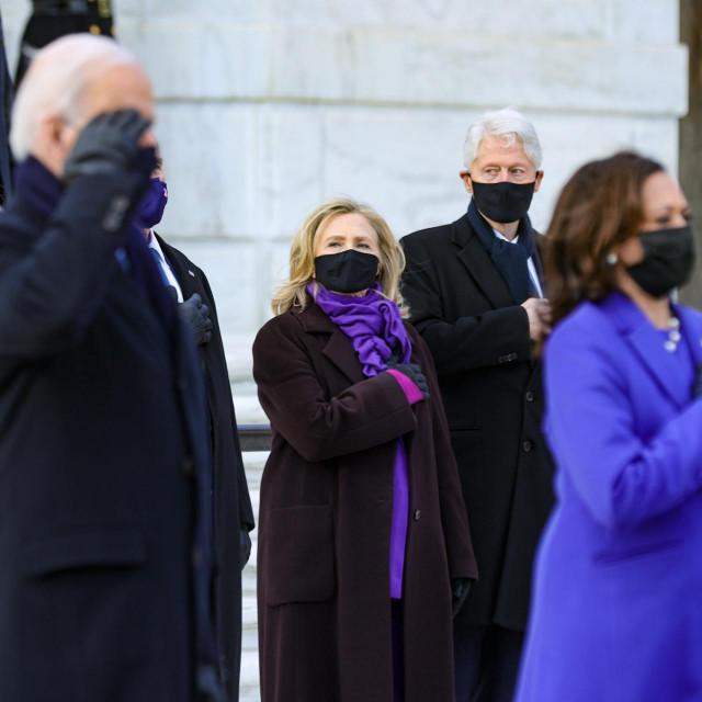 """Bidenovim govorom dominirala je riječ """"jedinstvo"""", a druge koje su bile stožerne su istina (protiv manipulacije) te """"domaći terorizam"""" i rasna nejednakost uslijed bijelog suprematizma"""