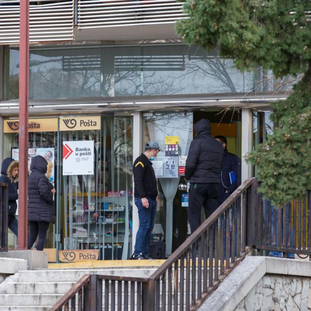 Opljačkana je pošta u Papandopulovoj ulici u Splitu