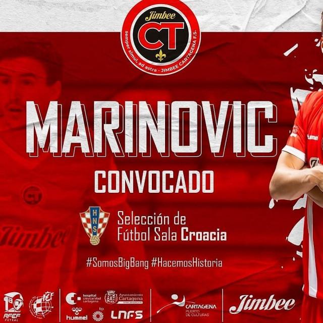 Dario Marinović, Dubrovčanin u dresu Jimbee Cartagene, španjolskog prvoligaša