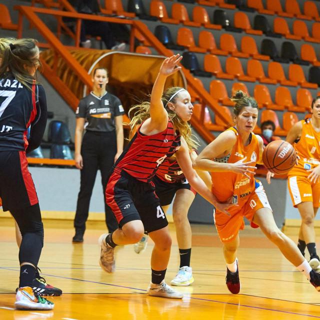 Košarkašice Šibenika pobijedile na početku Lige za prvaka