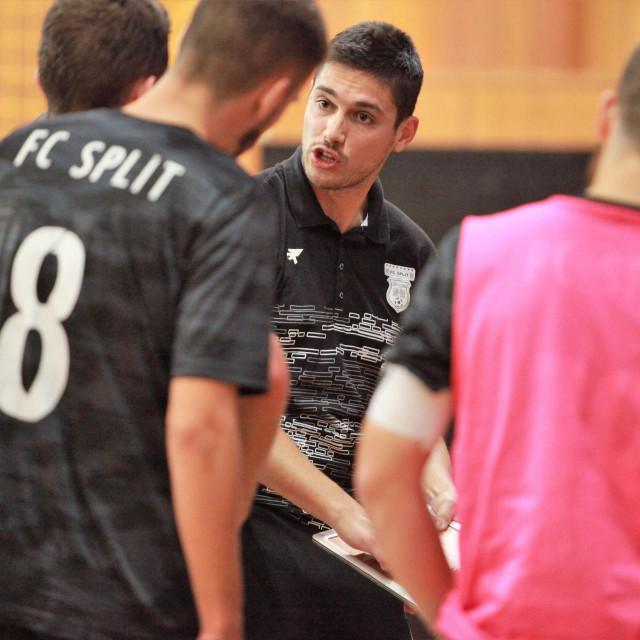 Dubrovčanin Antun Bačić, trener malonogoetaša Splita foto: Tonči Vlašić