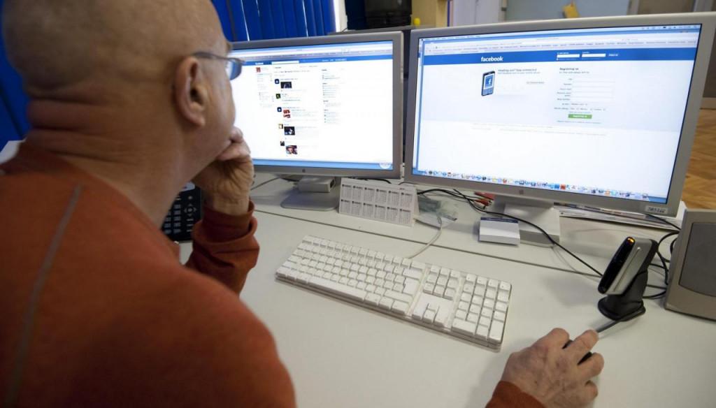društvene mreže, Facebook, ilustracija
