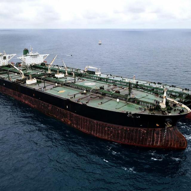 Zaplijenjeni tankeri