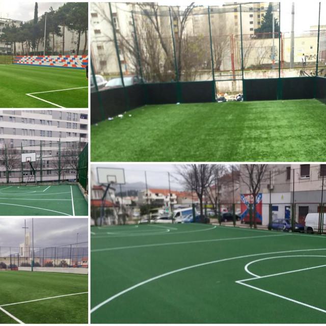 Obnovljena sportska igrališta
