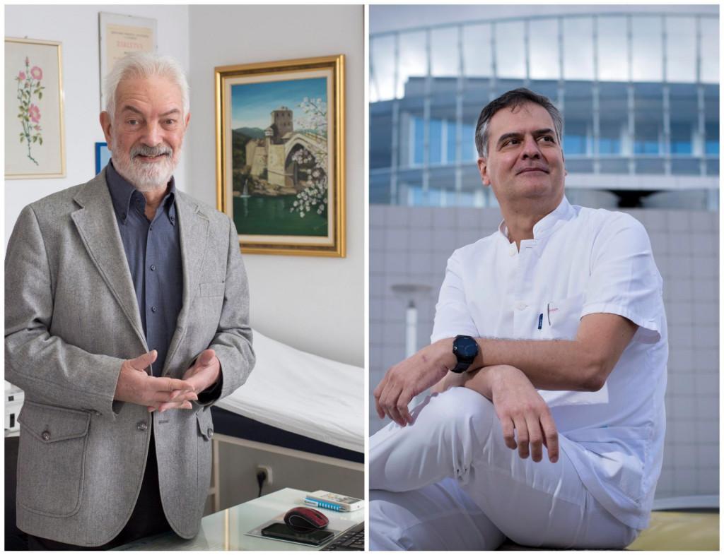 Dr. Zdeslav Benzon i dr. Ivan Urlić