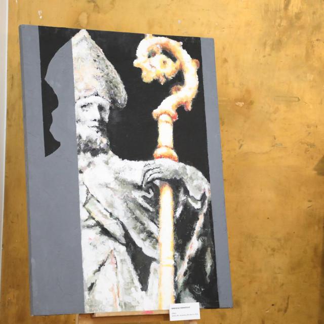 Sveti Vlaho u viđenju jednog od umjetnika